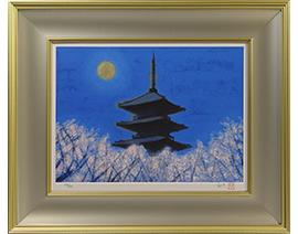 仁和寺の夜桜