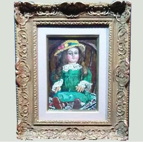 緑衣の人形