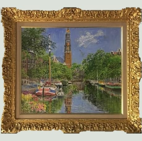 初夏の運河