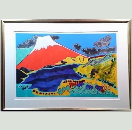 大観山の富士