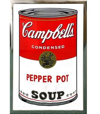 キャンベルのスープ缶 アンディ・ウォーホルの作品