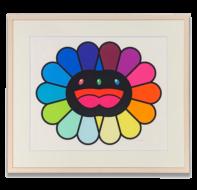 村上隆 Multicolor Double Face Black