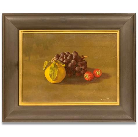 八宝柑とブドウとイチゴ