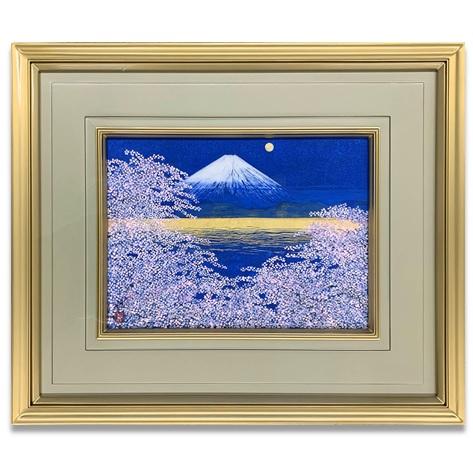 平松礼二「富士に光る海」4号