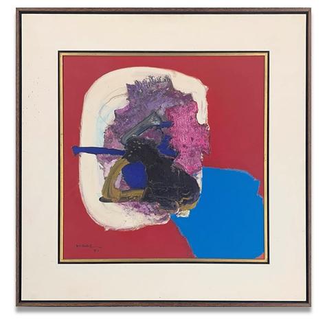 マベマナブ「1990」油彩